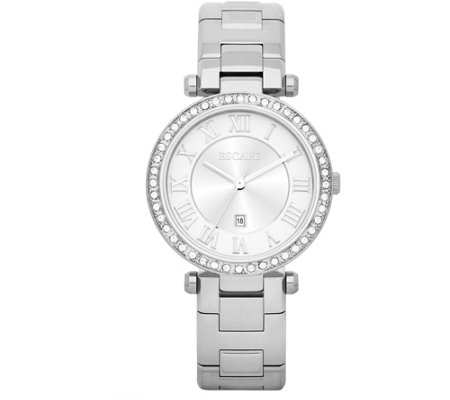 Escape Ladies Crystal Stainless Steel Watch