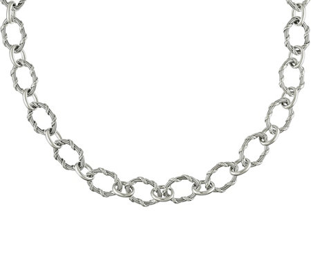 "Peter Thomas Roth Sterling Signature 36"" Necklace, 198.0g"