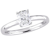 Affinity 14K Gold 1.0 cttw Cushion-Cut DiamondSolitaire Ring - J381334
