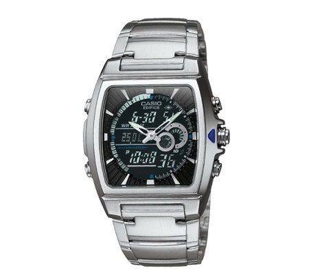 Casio Men's Edifice Thermometer Bracelet Watch
