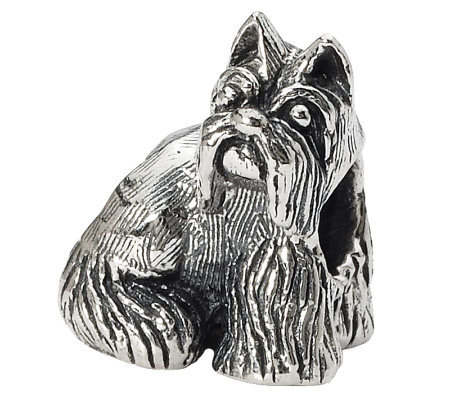 Prerogatives Sterling Miniature Schnauzer Bead