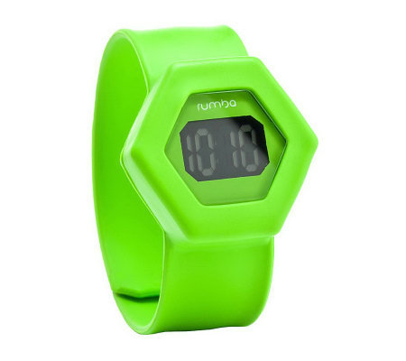 RumbaTime Digital Broadway HEX Slap Watch
