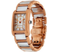 Judith Ripka Stainless Steel Lexington Watch