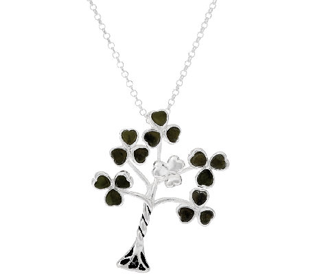 """As Is"" Connemara Marble Family Tree Necklace"