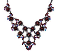 Joan Rivers Crystal Elegance Statement Necklace/Ext