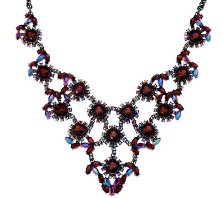 Joan Rivers Crystal Elegance Statement Necklace