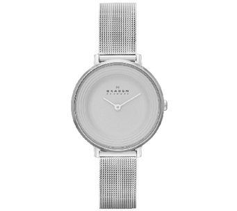 Skagen Women's Stainless Steel Mesh Bracelet Watch - J339335