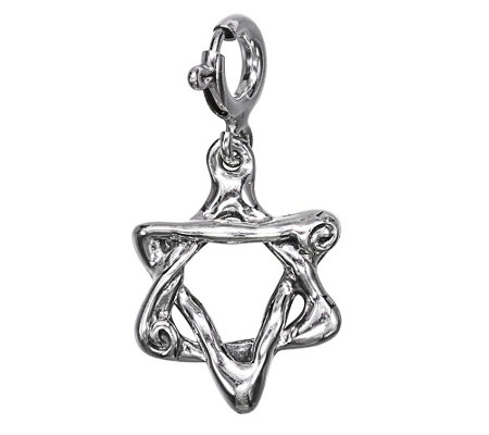 Hagit Sterling Star of David Charm