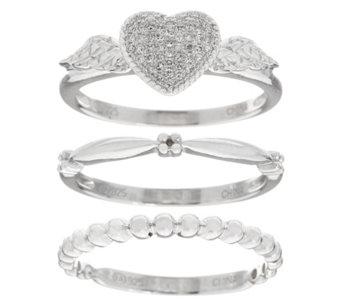 rings jewelry qvccom - Diamonique Wedding Rings