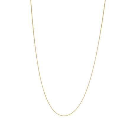 "Italian Gold 24"" Sparkle Chain, 14K Gold 1.9g"