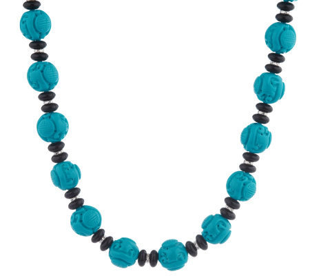 Kenneth Jay Lane's Great Wall Bead Necklace