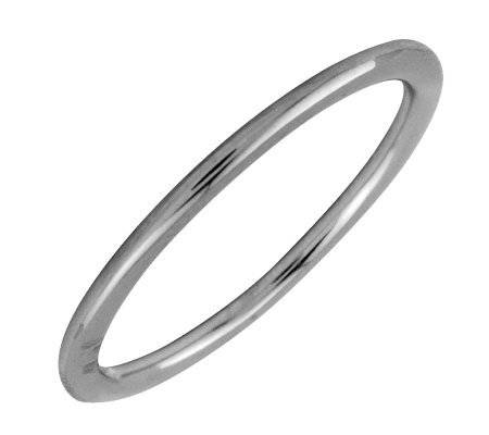 Simply Stacks Sterling Black Rhodium-Plated 1.5mm Ring