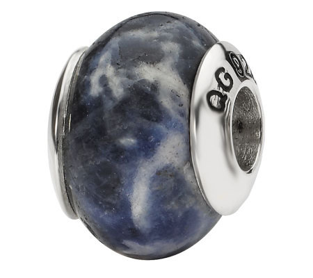 Prerogatives Sterling Sodalite Bead