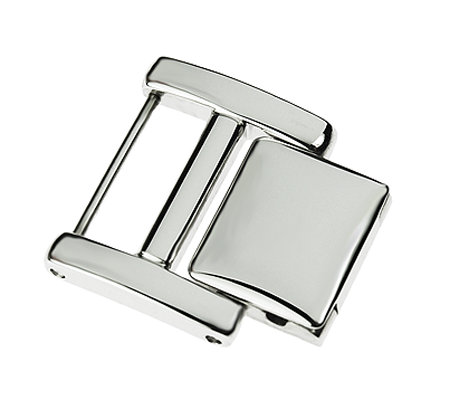 Ecclissi Stainless Steel Silvertone Watch Extender - Smooth