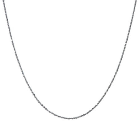 "Stainless Steel 24"" Margherita Chain Necklace"