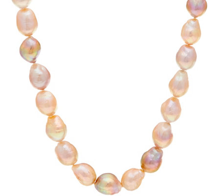 "Honora Natural Ming Cultured Pearl Sterling 36"" Necklace"