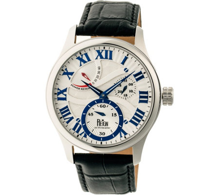 Reign Bhutan Automatic Watch - Silvertone