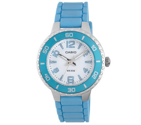 Casio Women's Silvertone Case Watch