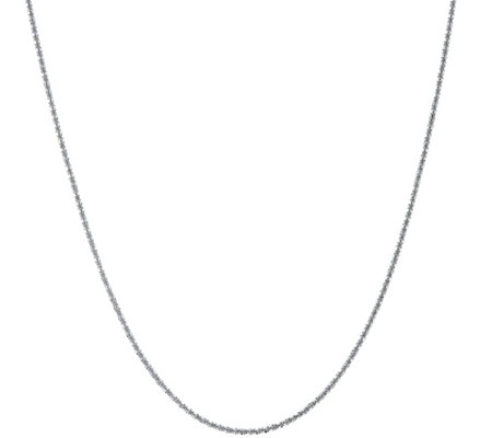 "Stainless Steel 36"" Margherita Chain Necklace"