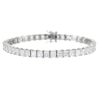 Diamonique Choice of Cut Tennis Bracelet, Sterling - J333637