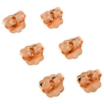 Bronze Set of 3 Earring Back Clutches by BronzoItalia