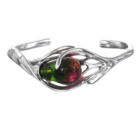 Kalos by Hagit Sterling Glass Cuff