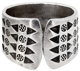 "Novica Artisan Crafted Sterling ""Tribal Wildflowers"" Ring - J310038"