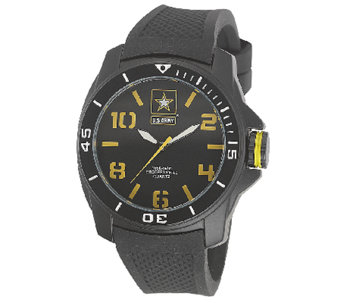 Wrist Armor Men's U.S. Army C25 Black & YellowWatch - J316338