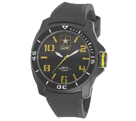Wrist Armor Men's U.S. Army C25 Black & YellowWatch