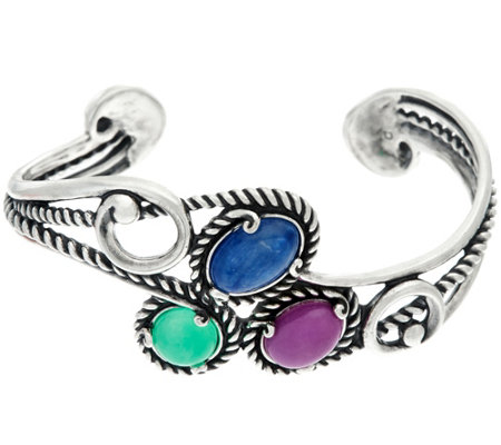 Carolyn Pollack Bay Breeze Sterling Silver Cuff Bracelet