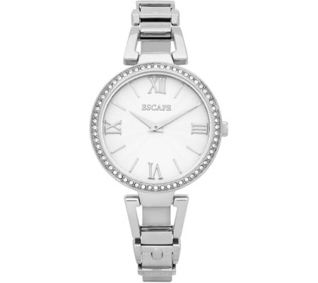 Escape Ladies Swarovski Crystal Stainless SteelWatch