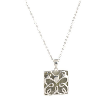 Connemara Marble Sterling Silver Pendant