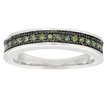 Color Band Diamond Ring, Sterling, 1/4 cttw by Affinity - J291539