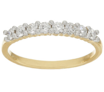 98 Facet Diamond Band Ring, 14K, 4/10 cttw, by Affinity - J319139