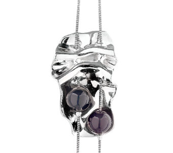 "Hagit Sterling ""Opening Night"" Necklace w/ Black Onyx Beads - J337539"
