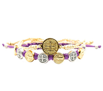 My Saint My Hero Blessing and Protection MixedBracelet Set - J339239