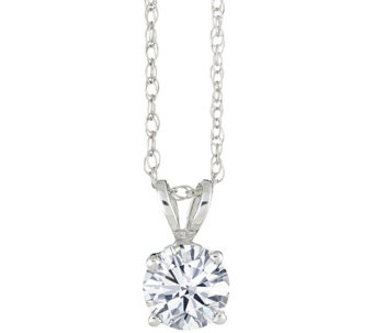 Round Diamond Pendant, 14K Gold 1/3 cttw, by Affinity - J341439