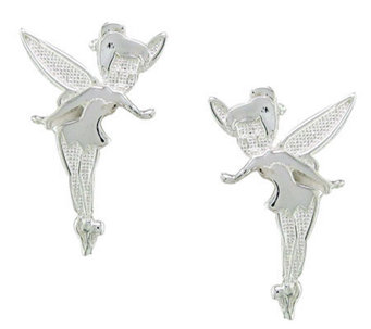 Disney Sterling Silver Tinker Bell Stud Earrings - J112540