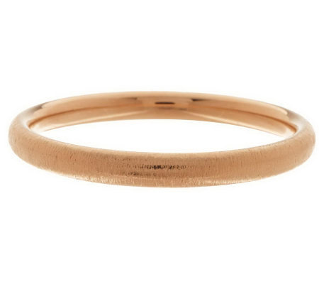Oro Nuovo Average Round Textured Bangle, 14K
