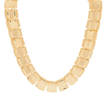 """As Is"" Joan Rivers Polished Perfection Collar Necklace"