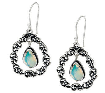 Sterling Silver 2.00 ct tw Gemstone Drop Earrings by Or Paz - J328040