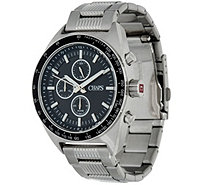 Chaps Men's Stainless Steel Chronographic Watch - Rockton - J348040