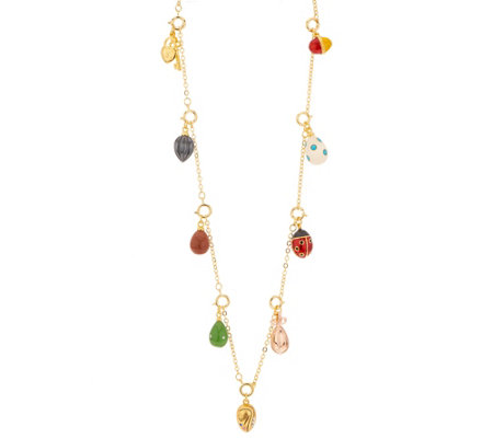 Joan Rivers Private Collection Egg Charm Necklace