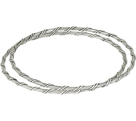 Peter Thomas Roth Sterling Signature Romance S/2 Bangles