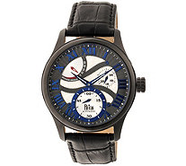Reign Bhutan Automatic Watch - Black/Blue - J380340