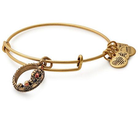 Alex and Ani Queen's Crown Charm Bangle