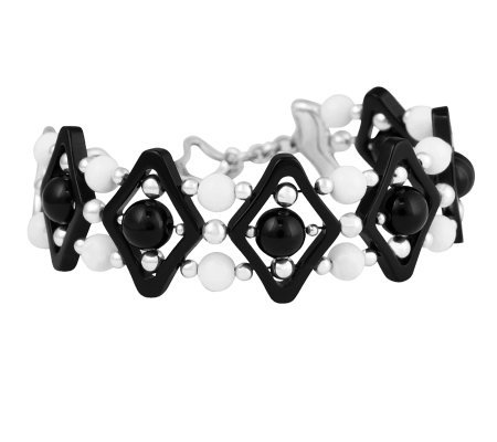 Carolyn Pollack Sterling Night Jazz Bracelet