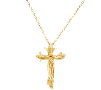 Scott Kay 14K Clad Cross Necklace - J327641