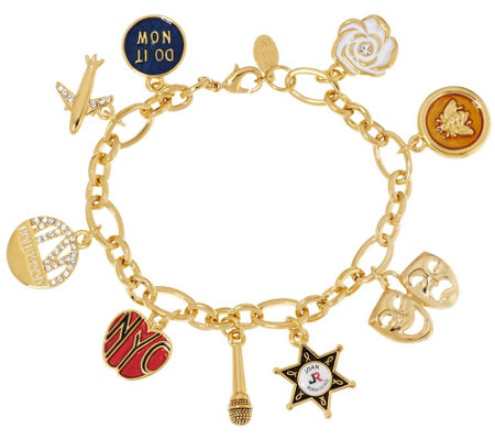 """As Is"" Joan Rivers Ltd. Ed. My Favorite Things 7-1/2"" Charm Bracelet"