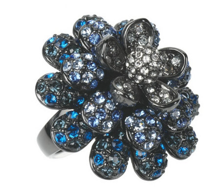 """As Is"" Joan Rivers Pave' Blossom Ring"